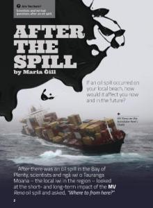 After the spill cover.