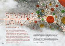Sensing data cover image.