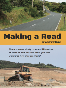 Making a road.