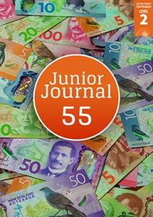 Junior journal 55 cover image.