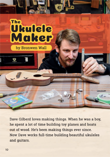 The Ukelele Maker.