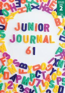 Junior Journal 61 cover