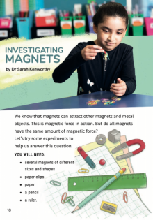 Investigating Magnets cover image