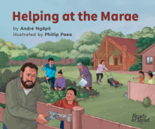 Helping at the marae cover image.
