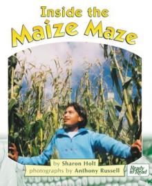 Inside the maize maze.