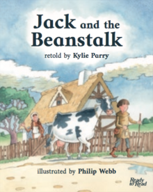Jack and the beanstalk cover image.