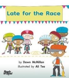 Late for the Race book cover.