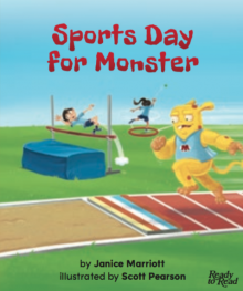 Sports day for monster cover image.