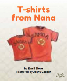 T-shirts from Nana cover image.