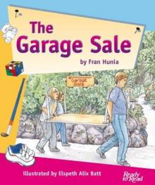 The garage sale.