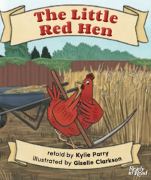 Little red hen cover image.