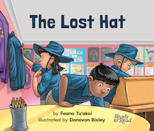 The Lost Hat book cover.