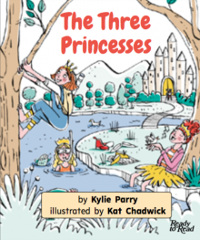 The three princesses cover image.
