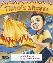 Timo's shorts.