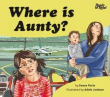 Where is Aunty? book cover.