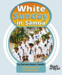 White sunday in samoa.