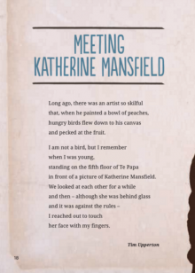 Meeting katherine mansfield cover.