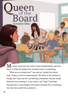 Queen of the board cover image.