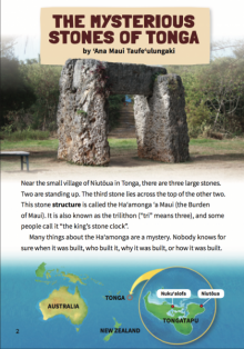The mysterious stones of tonga book cover.