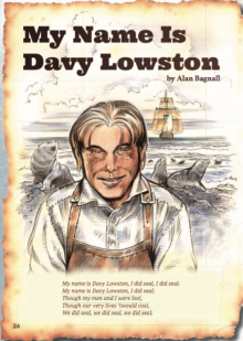 Davy lowston cover.