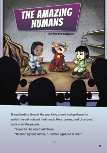 The amazing humans cover image.