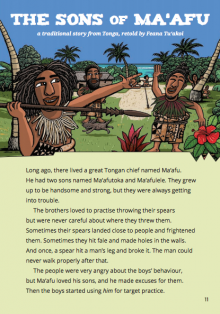 The Sons of Ma'afu book cover.