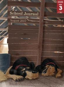 School journal level 3 aug 2017 cover image.