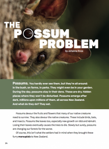 The possum problem cover image.