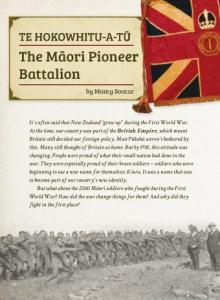 The maori pioneer battalion cover.
