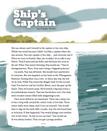 Ship's captain cover