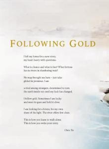 Following gold.