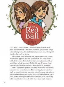The red ball.