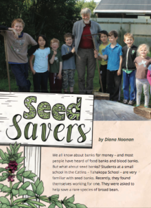 Seed savers cover.