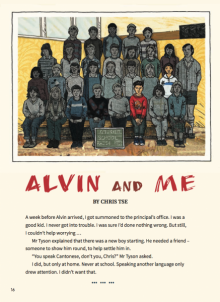 Alvin and me cover image.