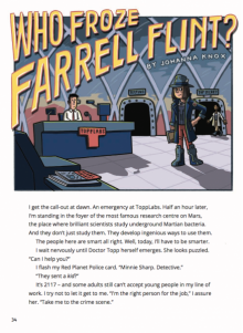 Who froze farrell flint cover image.