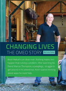 Changing Lives: The Omeo Story.