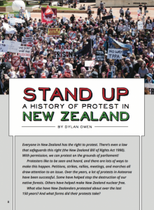 Stand up cover image.