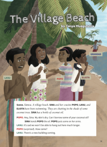 The village beach cover image.