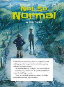 Not so normal cover.