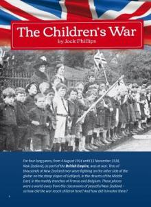 Childrens war cover.