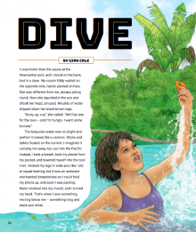 Dive cover page