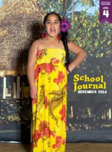 School Journal Level 4 November 2016 cover image.