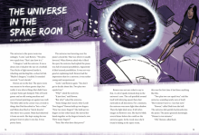 The universe in the spare room cover image.