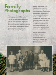 Family photographs cover.