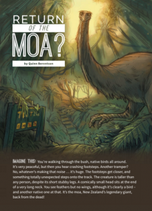 Return of the moa cover.