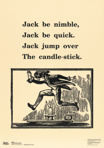 Jack jumping over a candle.
