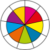 Colour wheel.