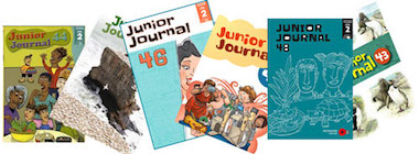 Junior journal covers IS